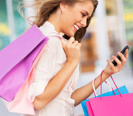 shopper with proximity marketing app