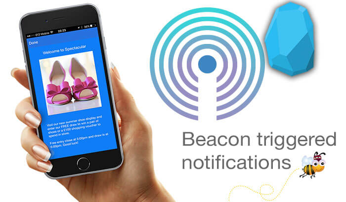 triggering beacon notifications