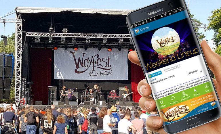 Weyfest Music Festival App