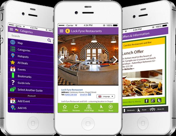 location based marketing app